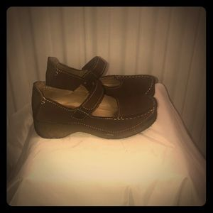 Yellow Box shoes